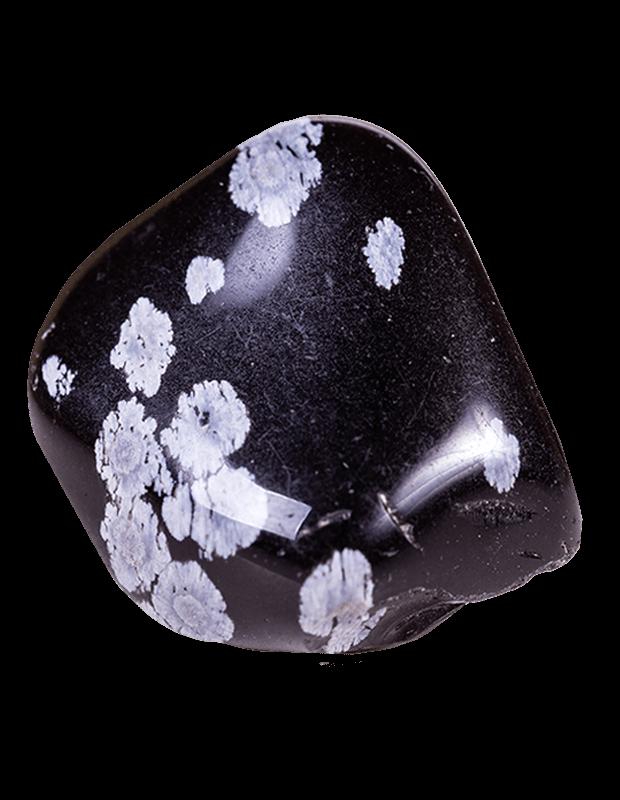 Purity Stone: Snowflake Obsidian